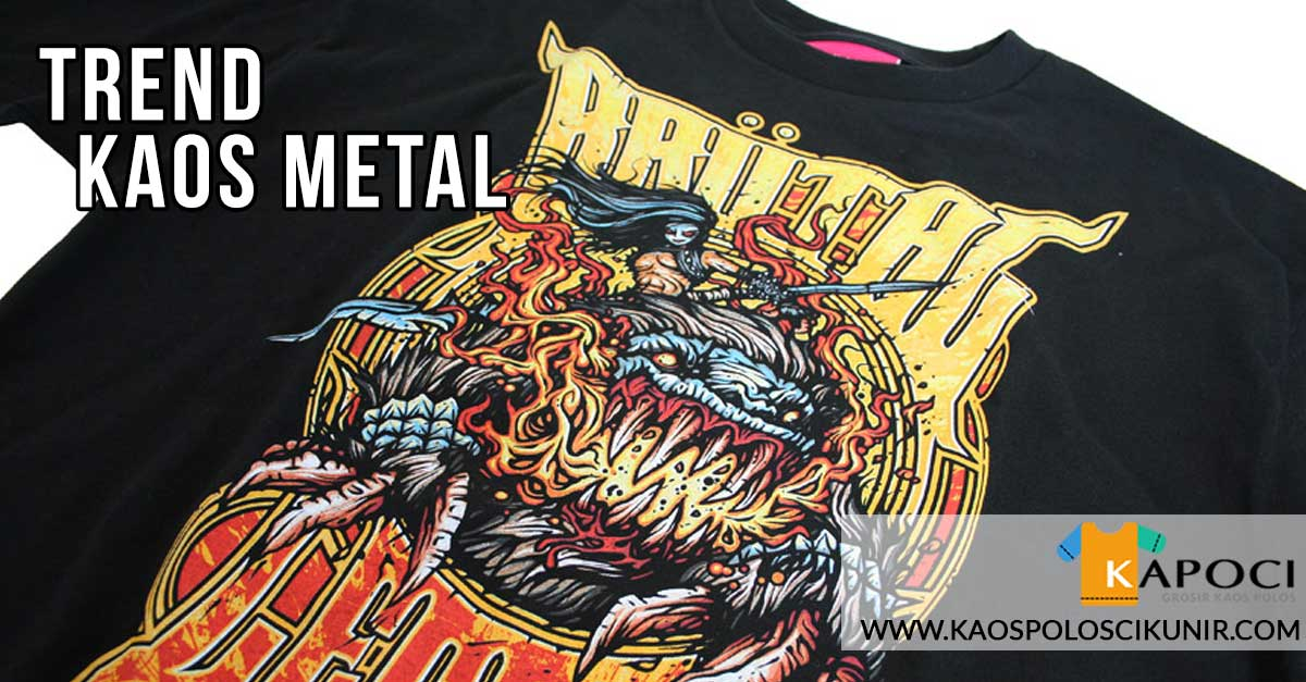 kaos metal di indonesia