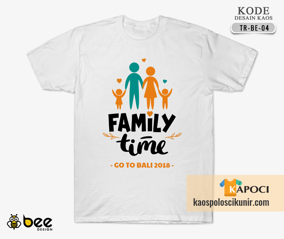 Kaos Happy Family Day