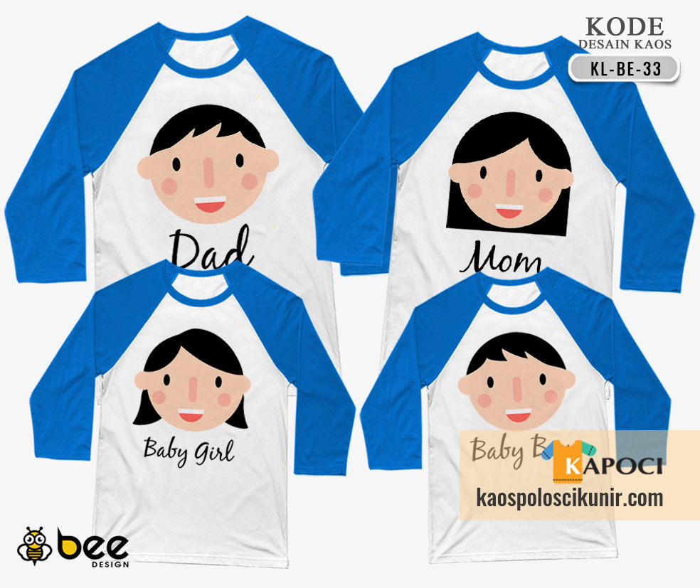 Kaos Couple Family Lucu